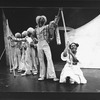 "Stephanie Mills (R) in a scene from the Broadway production of the musical ""The Wiz""."