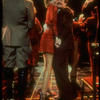 "Actors Jane Krakowski and Michael Jeter dancing in scene from the play ""Grand Hotel""."