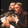 "James Earl Jones as Othello and Christopher Plummer as Iago in a scene from the Broadway revival of the play ""Othello"" (New York)"