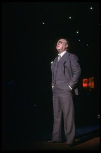 "Actor Vincent Gardenia in a scene fr. the Broadway musical ""Ballroom."" (New York)"
