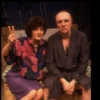 "Actors Priscilla Lopez & Philip Bosco in a scene fr. the Off-Broadway play ""Be Happy For Me."" (New York)"