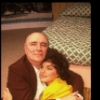"""Actors Priscilla Lopez & Philip Bosco in a scene fr. the Off-Broadway play """"Be Happy For Me."""" (New York)"""