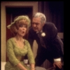 """Actors Betty Garrett & Forrest Tucker in a scene fr. the National tour of the Broadway play """"Plaza Suite."""" (Columbus)"""