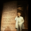 "Actor Gordon Connell as Mark Twain in a scene fr. the original cast of the Broadway musical ""Big River."" (New York)"