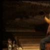 "Actors (L-R) Bob Gunton & Rene Auberjonois in a scene fr. the original cast of the Broadway musical ""Big River."" (New York)"
