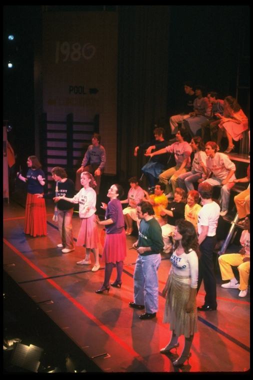 Rarely seen photos of original MERRILY WE ROLL ALONG