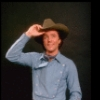 """Actor Joel Higgins in a publicity shot fr. the replacement cast of the Broadway revival of the musical """"Oklahoma!."""" (New York)"""