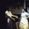 "Actors (L-R) Michel Bell, Gretha Boston, Lonette McKee & Rebecca Luker in a scene fr. the revival of the Broadway musical ""Showboat."" (New York)"