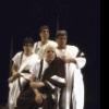 "Actors (clockwise fr. top) Edward Herrmann, Martin Sheen, John McMartin & Al Pacino in a scene fr. the New York Shakespeare Festival production of the play ""Julius Caesar."" (New York)"