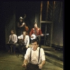 """Performer Tom Key with The Cotton Pickers in a scene from the Off-Broadway musical """"Cotton Patch Gospel."""" (New York)"""