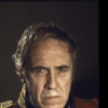"""Actor Jason Robards in a publicity shot for the Broadway production of the play """"A Touch of the Poet"""" (New York)"""