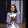 """Actress Polly Draper in a scene from the Off-Broadway play """"Crazy He Calls Me"""" (New York)"""