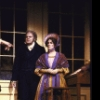 """Actors Linda Poser and George S. Irving in a scene from the Broadway musical """"Copperfield."""" (New York)"""