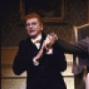 """Actors (L-R) Barrie Ingham, Brian Matthews and Beulah Garrick in a scene from the Broadway musical """"Copperfield."""" (New York)"""