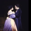 """Actors Mary Elizabeth Mastrantonio and Brian Matthews in a scene from the Broadway musical """"Copperfield."""" (New York)"""