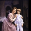 """Actors Beth Fowler & Jonathan Ward in a scene fr. the Broadway revival of the musical """"Peter Pan."""" (New York)"""