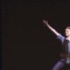 "Actors (L-R) Sandy Duncan, Jonathan Ward & Marsha Kramer flying in a scene fr. the Broadway revival of the musical ""Peter Pan."" (New York)"