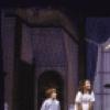 "Actors (L-R) Jonathan Ward, Marsha Kramer & Sandy Duncan in a scene fr. the Broadway revival of the musical ""Peter Pan."" (New York)"