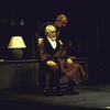"Actors (L-R) Jason Robards and Christopher Plummer in a scene from the Roundabout Theater Co.'s production of the play ""No Man's Land"" (New York)"