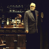 "Actor Jason Robards in a scene from the Roundabout Theater Co.'s production of the play ""No Man's Land"" (New York)"