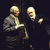 "Actors (L-R) Christopher Plummer and Jason Robards in a scene from the Roundabout Theater Co.'s production of the play ""No Man's Land"" (New York)"
