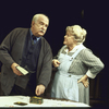 "Actors Richard Woods and Pat Carroll in a scene from the Roundabout Theater Co.'s production of the play ""The Show-Off"" (New York)"