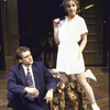 "Actors Anthony Fusco and J. Smith-Cameron in a scene from the Roundabout Theater Co.'s production of the play ""The Real Inspector Hound"" (New York)"
