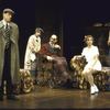 "Actors (L-R) Rod McLachlan, Patricia Conolly, Jeff Weiss, J. Smith-Cameron and Jane Summerhays in a scene from the Roundabout Theater Co.'s production of the play ""The Real Inspector Hound"" (New York)"