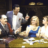 "Actors (L-R) Jeff Weiss, David Healy, Jane Summerhays and J. Smith-Cameron in a scene from the Roundabout Theater Co.'s production of the play ""The Real Inspector Hound"" (New York)"