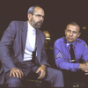 """Actors (L-R) Joe Spano and Hector Elizondo in a scene from the Roundabout Theater Co.'s production of the play """"The Price """" (New York)"""