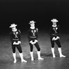 "New York City Ballet production of ""Fanfare"" with Edward Villella, Todd Bolender and Robert Lindgren, choreography by Jerome Robbins (New York)"