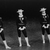 "New York City Ballet production of ""Fanfare"" with Richard Rapp, Robert Lindgren and Deni Lamont, choreography by Jerome Robbins (New York)"