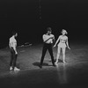 """New York City Ballet production of """"Creation of the World"""" (part of Jazz Concert), with Edward Villella, Arthur Mitchell and Janet Reed, choreography by Todd Bolender (New York)"""