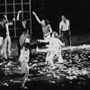 """New York City Ballet production of """"Creation of the World"""" (part of Jazz Concert) with Arthur Mitchell and Janet Reed, choreography by Todd Bolender (New York)"""