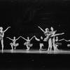 """New York City Ballet production of """"Variations from Don Sebastian"""", Carol Sumner and unidentified partner, Suki Schorer and Michael Lland, choreography by George Balanchine (New York)"""