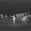 "New York City Ballet production of ""Fanfare"" with Jillana as Harp, choreography by Jerome Robbins (New York)"