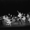 """New York City Ballet production of """"Theme and Variations"""" (in """"Symphony in C"""" costumes) with Violette Verdy and Edward Villella, choreography by George Balanchine (New York)"""