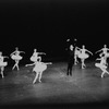 """New York City Ballet production of """"Theme and Variations"""" (in """"Symphony in C"""" costumes) with Edward Villella, choreography by George Balanchine (New York)"""