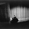 "New York City Ballet production of ""Episodes"" with Martha Graham in front of curtain, choreography by Martha Graham (New York)"