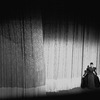 "New York City Ballet production of ""Episodes"" with Martha Graham taking a bow in front of curtain, choreography by Martha Graham (New York)"