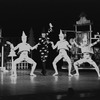 "New York City Ballet production of ""Jeux d'Enfants"" with Shaun O'Brien, choreography by George Balanchine, Barbara Milberg and Francisco Moncion (New York)"