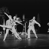 "New York City Ballet production of ""Jeux d'Enfants"" with Richard Rapp, Susan Borree and William Weslow, choreography by George Balanchine, Barbara Milberg and Francisco Moncion (New York)"