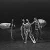 """New York City Ballet production of """"Orpheus"""" with Marlene Mesavage, Suzanne Farrell, Bill Carter and Edward Villella (back), choreography by George Balanchine (New York)"""