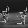 """New York City Ballet production of """"Variations from Don Sebastian"""" with Bettijane Sills, Richard Rapp, Suki Schorer and William Weslow, choreography by George Balanchine.. (New York)"""