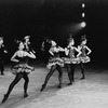 "New York City Ballet production of ""Western Symphony"" Kay Mazzo and Tina McConnell on left, choreography by George Balanchine (New York)"