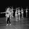 """New York City Ballet production of """"Concerto Barocco"""" with Melissa Hayden and Conrad Ludlow, choreography by George Balanchine (New York)"""