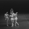 """New York City Ballet production of """"Concerto Barocco"""" with Melissa Hayden and Conrad Ludlow, (Susan Kenniff and Marnee Morris), choreography by George Balanchine (New York)"""