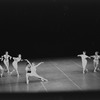 "New York City Ballet production of ""Movements for Piano and Orchestra"" with Jacques d'Amboise and Suzanne Farrell, choreography by George Balanchine (New York)"