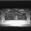 "New York City Ballet production of ""The Chase"" backdrop (set) by David Hays, choreography by Jacques d'Amboise (New York)"