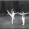 "New York City Ballet production of ""Divertimento No. 15"" with Mimi Paul and Anthony Blum, choreography by George Balanchine (New York)"